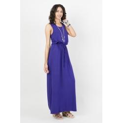 Robe longue débardeur violette