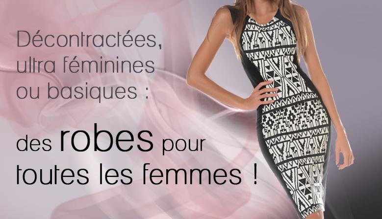 décontractées, ultra féminines ou basiques : des robes pour toutes les femmes !