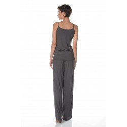 Grey tanktop tall woman clothes