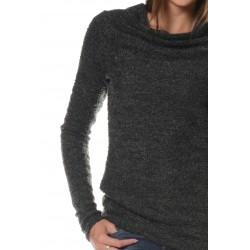 Grey Knit Pull