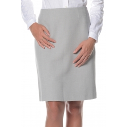 Jupe grise sans ceinture