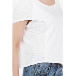 T-shirt with cape detail