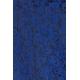 Blouson aviateur dentelle bleu roi