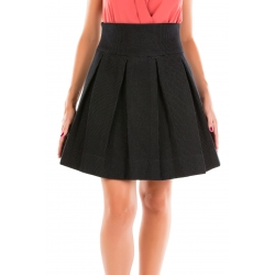 Pleated Skirt in Texture