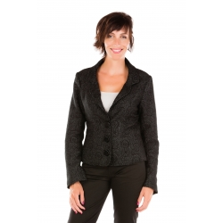 Tailored jacket in print tall woman clothing