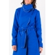 Manteau bleu royal